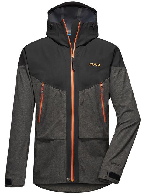 PYUA Breakout-Y 2.0 S 3-Layer Jacket Men almost/grey melange